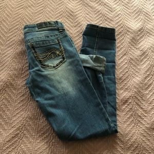 Twenty one black light wash jeans 1/2R by rue2